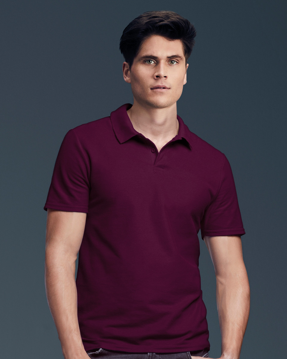 Anvil Adult Double Pique Polo