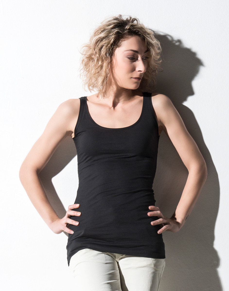 Nakedshirt Mia Long Vest Top