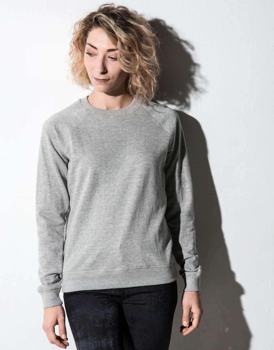 Nakedshirt Womens Crew Neck Sweat