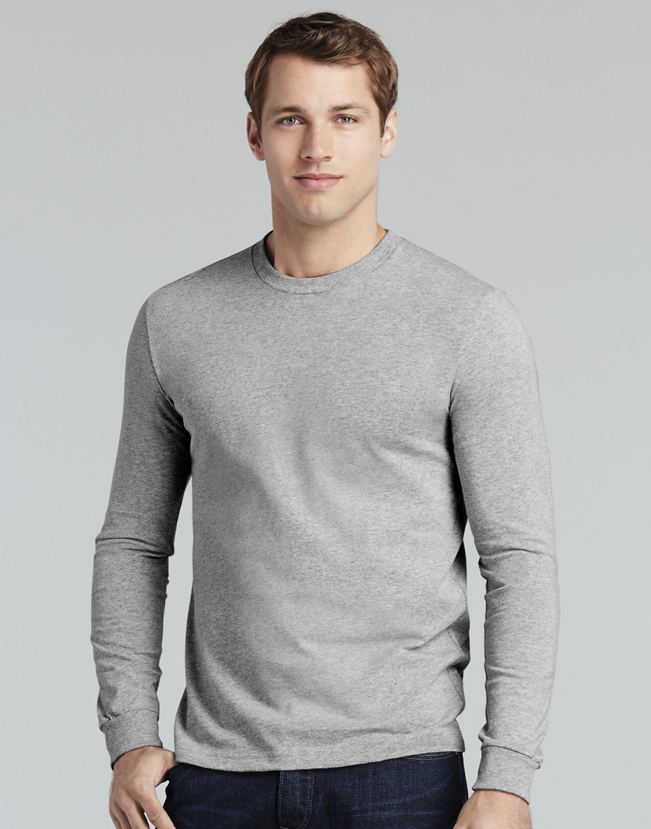 Gildan Mens Long Sleeve Hammer Tee