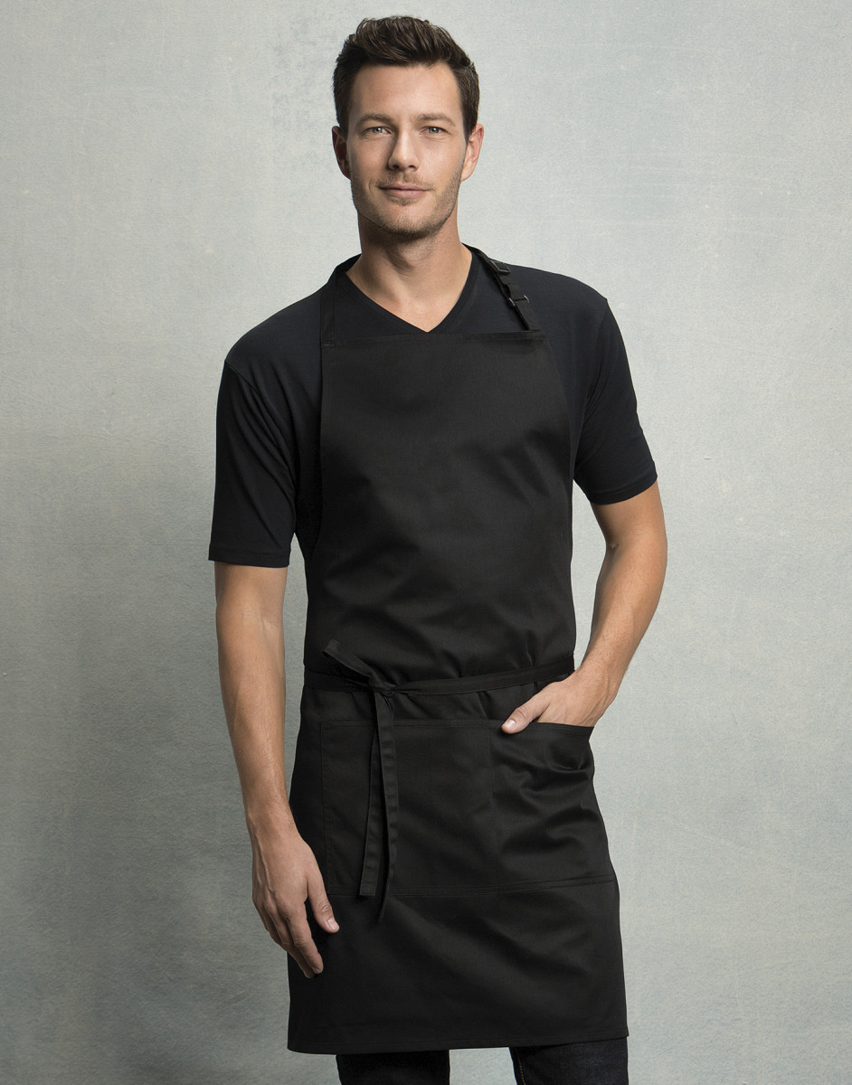 Bargear Superwash Pocket Bib Apron