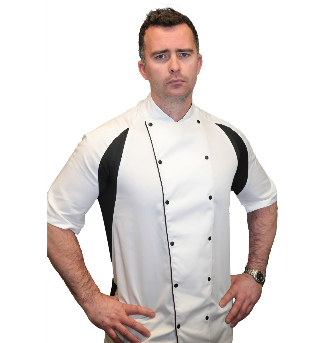 Le Chef Mens Thermocool Chefs Jacket