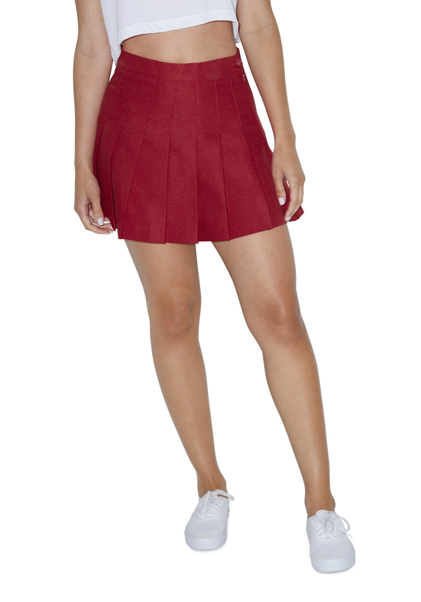 American Apparel Womens Tennis Skirt