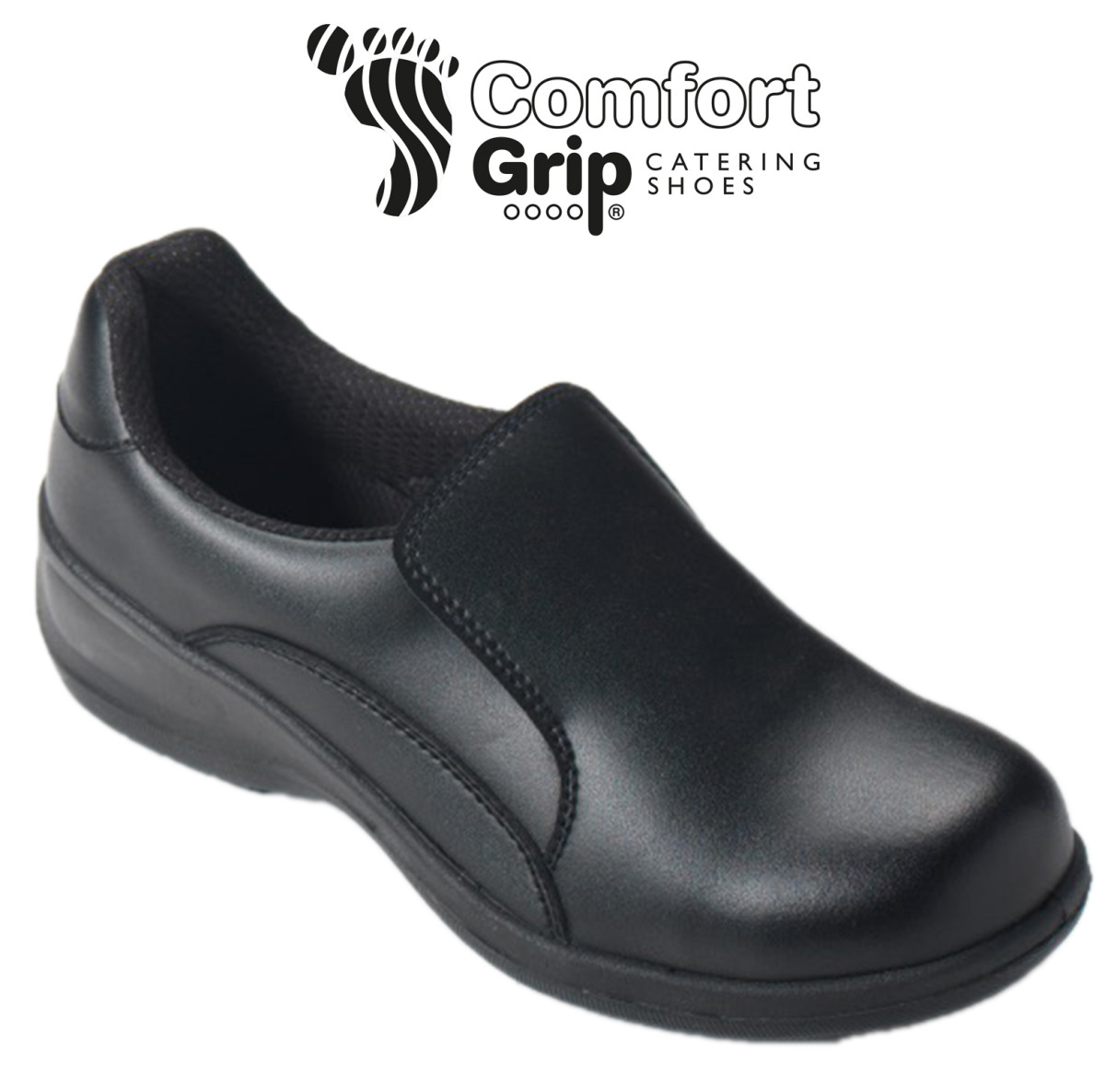 Dennys Comfort Grip Ladies Slip-On
