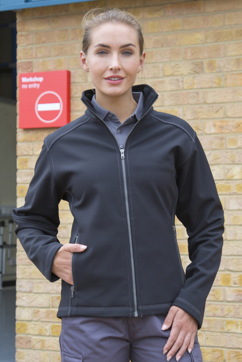 Result Workguard Womens Softshell
