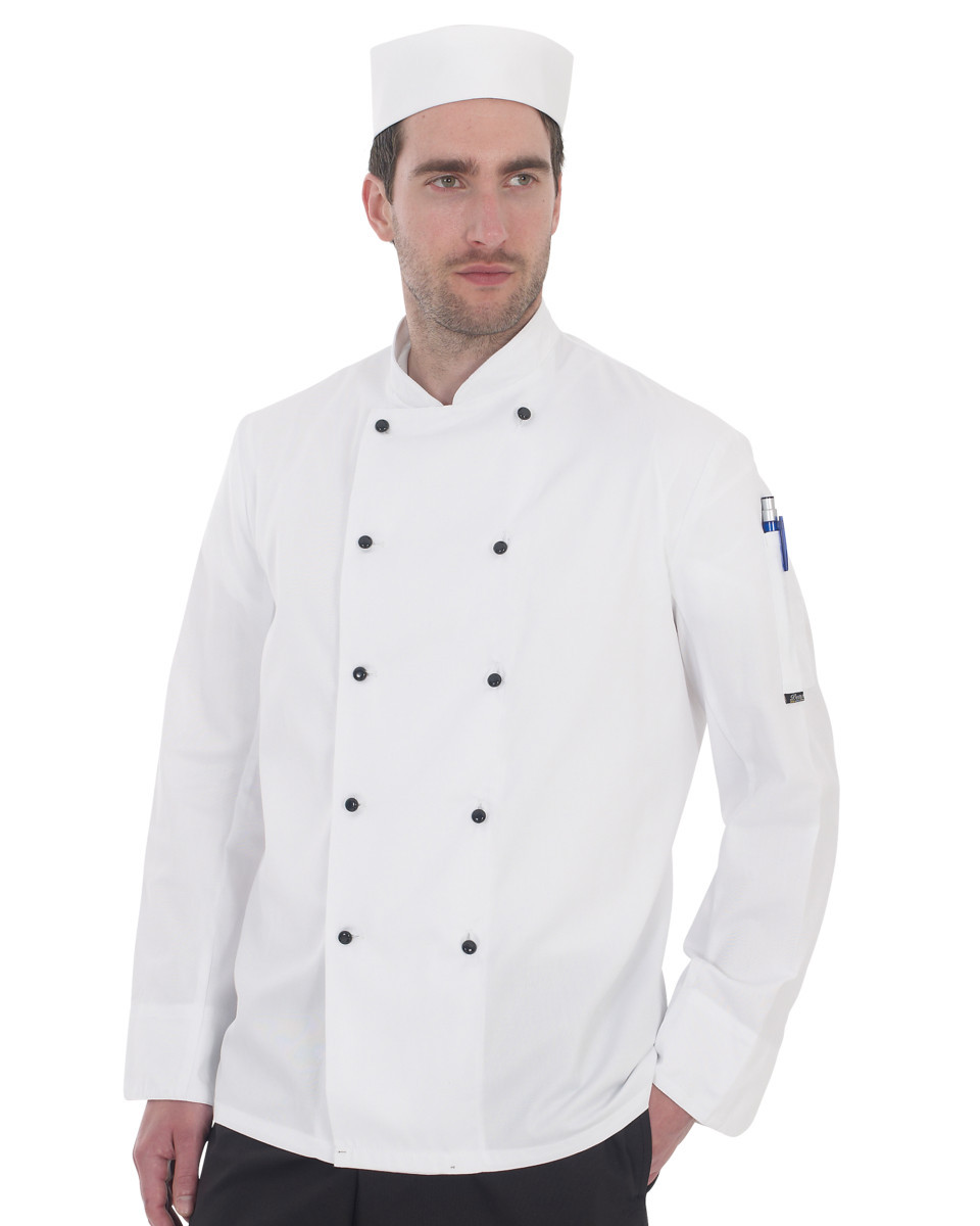 Lightweight Long Sleeve Chefs Jacket