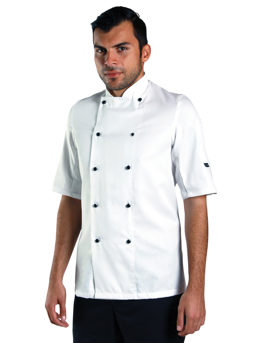 Lightweight Short Sleeve Chefs Jacket