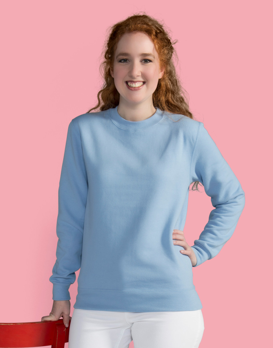 Ladies' Crew Neck Sweatshirt