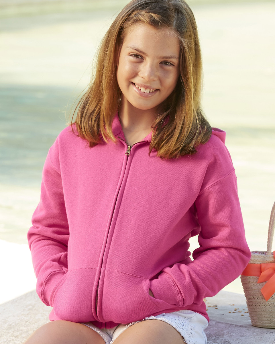 Children's Hooded Sweat Jacket